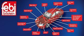 Reseña del espaciador del eje de freno FEBI BILSTEIN