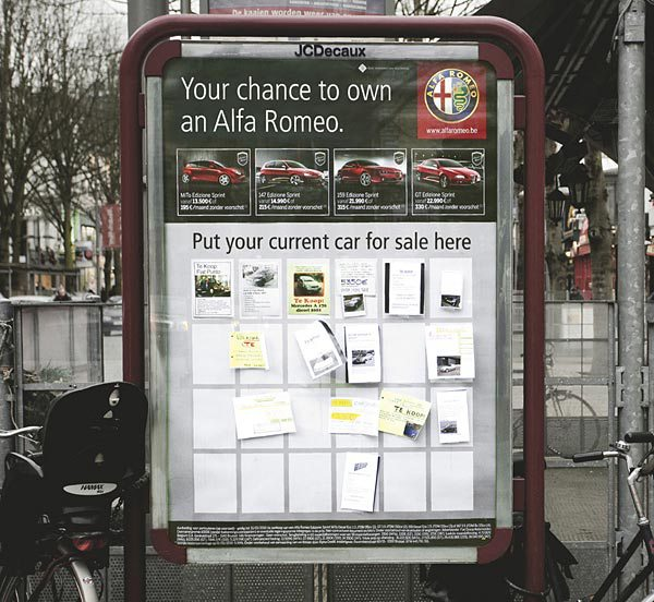 8. Alfa Romeo: Giving people a chance to sell their cars