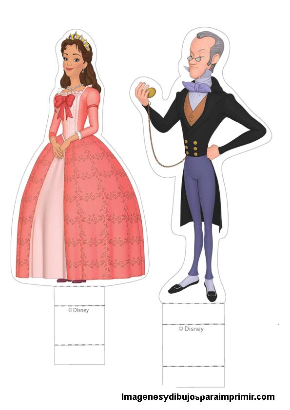 Personajes Princesa Sofia Para Recortar Imagenes Y