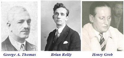 Sir George A. Thomas, Brian Reilly y Henry Grob