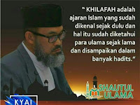 KHILAFAH AJARAN ISLAM  Dr. Daud Rasyid, Lc., MA (*)