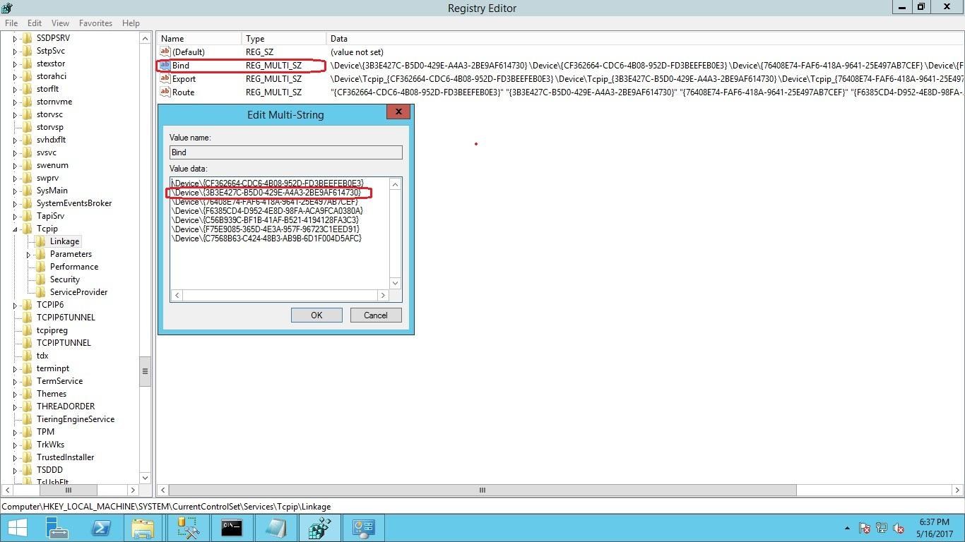 Resolve Network Binding Order Warning in failover cluster