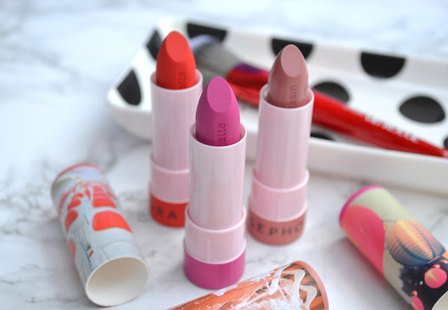 Sephora Collection Lipstories Lipstick Review Swatches