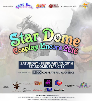 Star Dome Presents Star Dome Cosplay Encore 2016 at Star City