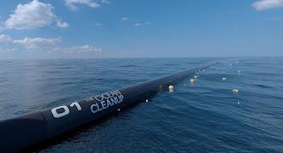 Συσκευή 600 μέτρων θα καθαρίσει τον Ειρηνικό από τα πλαστικά (Βίντεο)