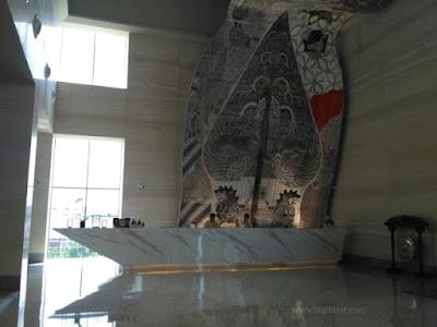 Lobby Utama Alila Solo