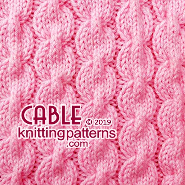 Knit Aran Stitches, Free #KnittingPatterns