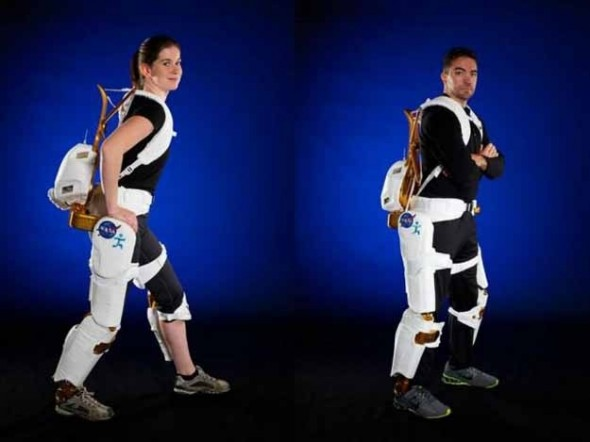 Nasa begins using Robotic Exoskeletons - 27 Science Fictions That Became Science Facts in 2012