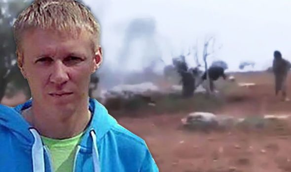 """Russian pilot Maj. Roman Filipov reportedly blew himself up with a grenade after his Sukhoi 25SM fighter jet was hit by a portable surface-to-air missile as he flew low over opposition-held Idlib in northwestern Syria, according to NEW YORK POST    Maj. Filipov, was forced to eject from his crashing jet within opposition's territory, out-numbered and out-gunned, he blew himself up as he shouted, """"This is for our guys!"""" to avoid capture by extremists.    A video circulating online shows he managed to keep the plane in the air for as long as he could but was forced to bail out after one of the engines failed and his flight controls became unresponsive.    Jihadists from Hayat Tahrir al-Sham, an al Qaeda-linked terrorist organization shot at him after his parachute opened, but he made it to the ground and shot two of the rebels with his Stechkin pistol, the EXPRESS REPORTED.    Dramatic video circulating in social media shows the fighters ducking as the gutsy aviator then shouts, """"This is for our guys!"""" He then pulls the grenade's pin and blows himself up.    Major Roman Filipov, 33, was from the eastern city of Vladivostok, was posthumously nominated for the Kremlin's highest honor, the Hero of Russia, according to the Russian daily Kommersant.  Russian President, Vladimir Putin is expected to grant the award.  """"Maj. Roman Filipov fought an unequal battle with his service weapon until the last minute of his life,"""" the Russian Defense Ministry said in a statement. """"When surrounded by the terrorists and heavily wounded, the Russian officer blew himself up with a grenade when the militants got within several dozen meters of him."""" Kremlin spokesman Dmitry Peskov added:   """"The pilot died heroically. We are proud of our heroes."""" Russia has reportedly ordered its warplanes in Syria to fly higher to avoid being shot down by shoulder-launched anti-aircraft missiles, the Izvestia daily reported Monday.    Russian defense officials said planes would only fly above 16,400 feet to"""