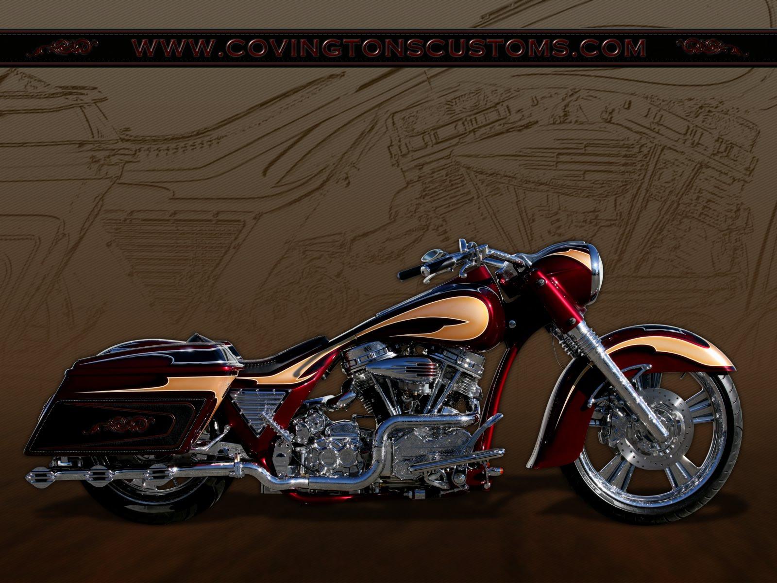 Motorcycle Custom: Biker Blog: COVINGTONS Cycle City