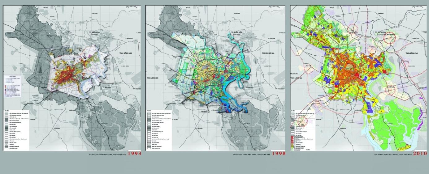 Điều chỉnh quy hoạch xây dựng vùng TP đến năm 2030 và tầm nhìn đến năm 2050