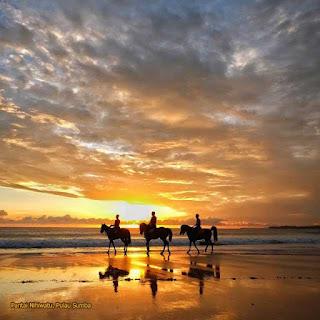 Berkuda di Pantai Nihiwatu