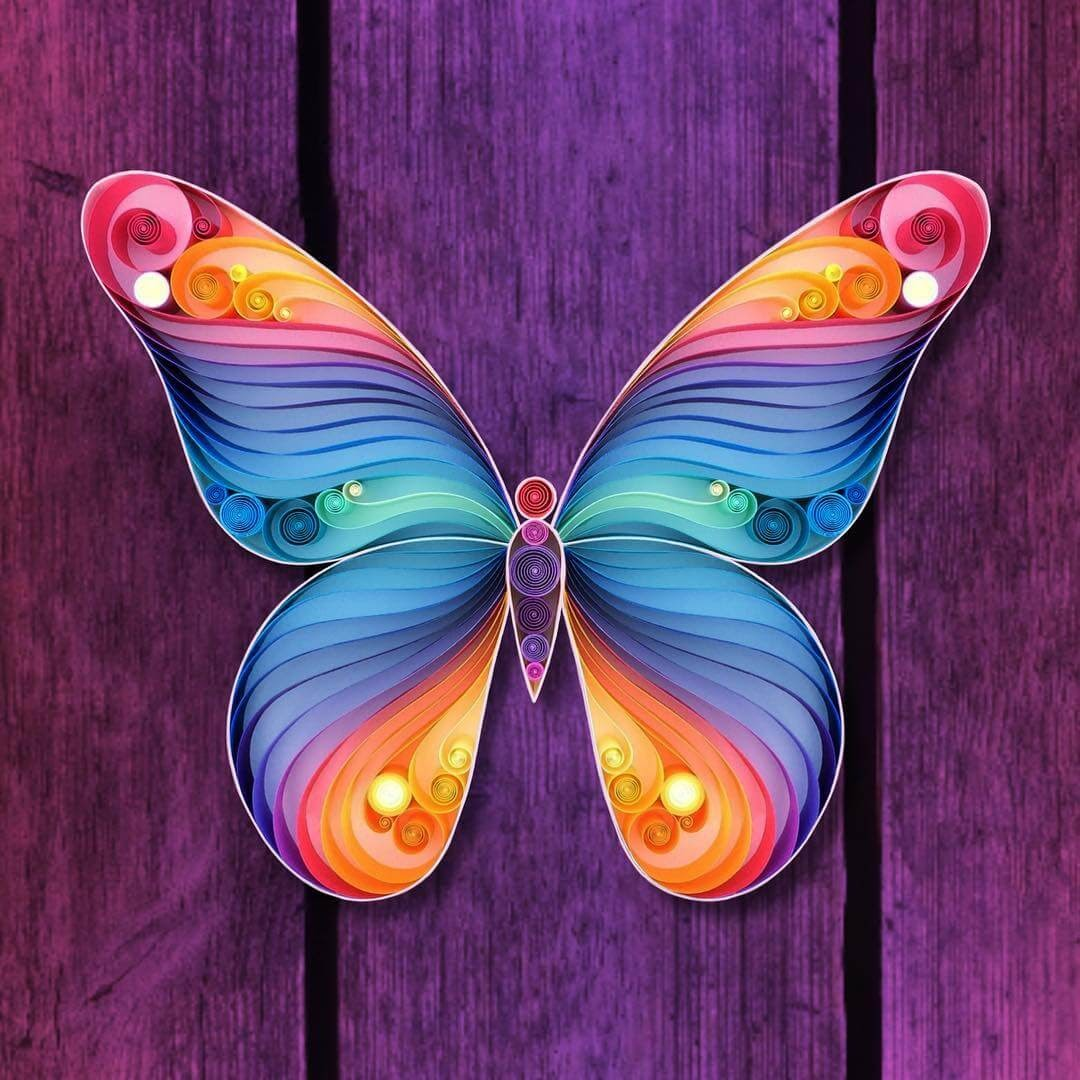 02-Butterfly-Sena-Runa-Quilling-Art-Animals-and-Objects-www-designstack-co