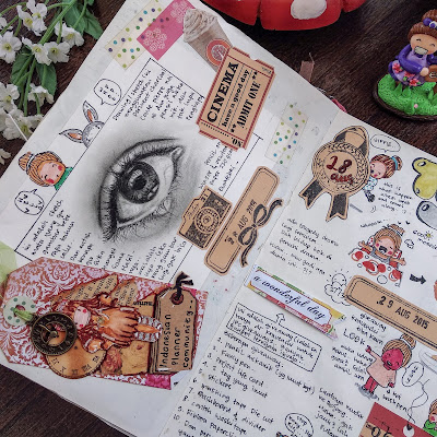 Ewafebri art doodle journal