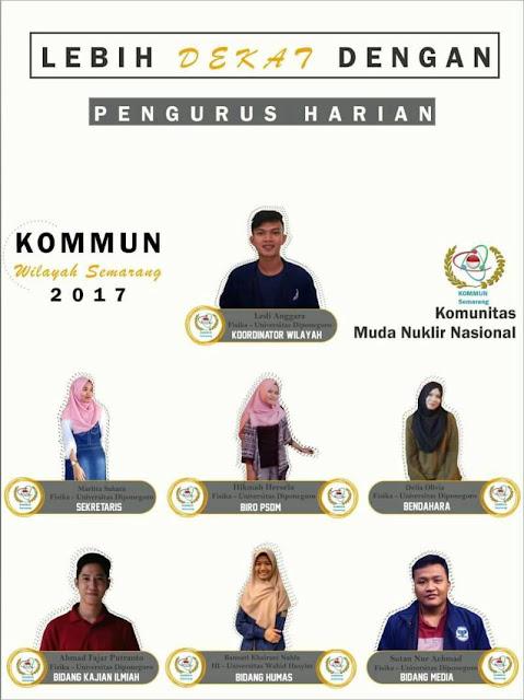 KOMMUN Semarang: Launching Pengurus Harian