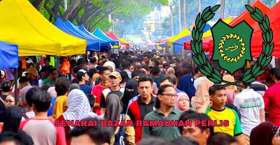 Senarai Bazar Ramadhan Perlis 2019 (Lokasi)