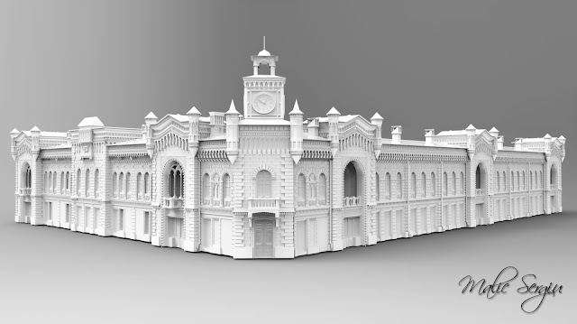 Primaria Municipiului Chisinau 3D model