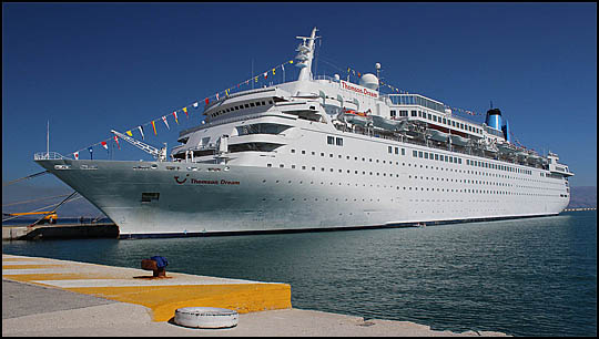 John Burkes AMusings Joining The Adriatic Explorer Cruise On - Pictures of thomson dream cruise ship