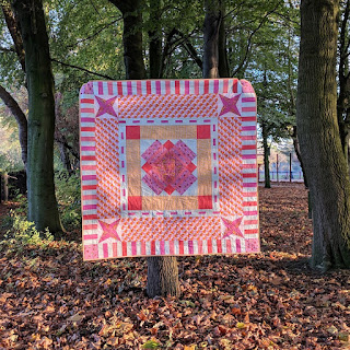spring fling quilt by Lucy Brennan | Charm About You