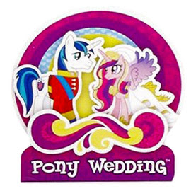 MLP Pony Wedding Brushable Figures