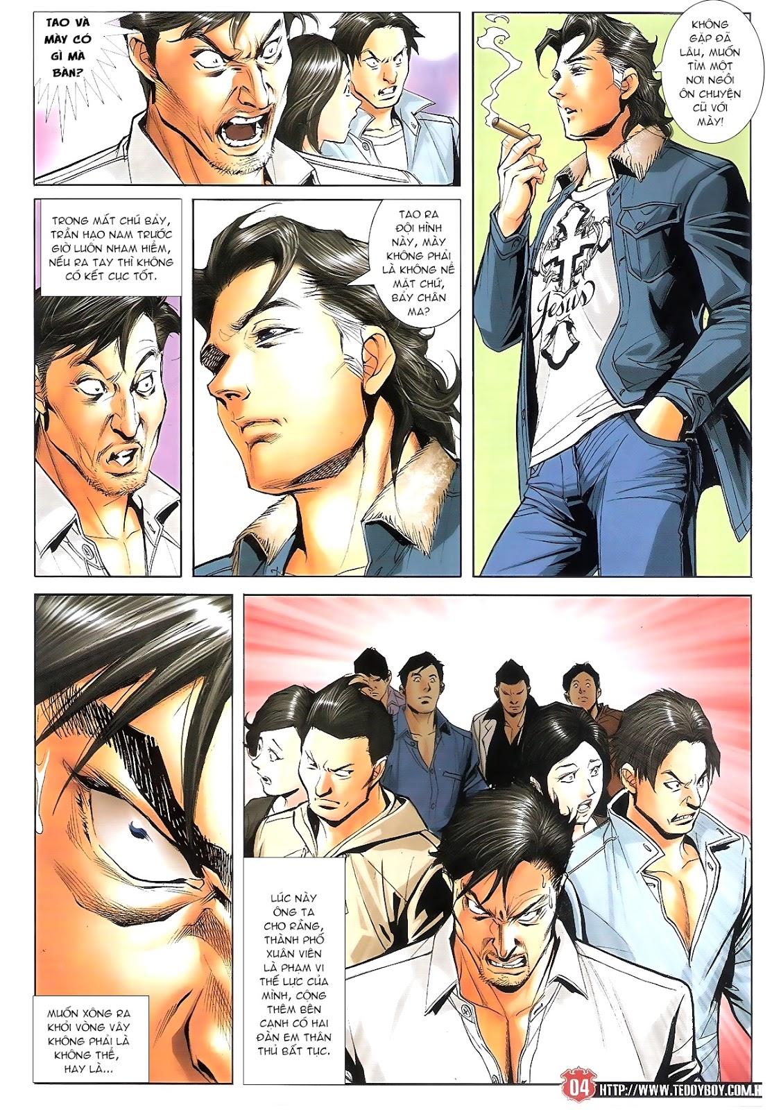 Người Trong Giang Hồ chapter 1696: giết vào vượng giác trang 3