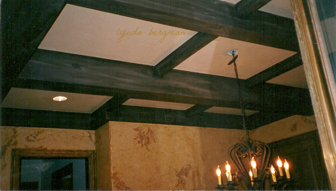 Lynda bergman decorative artisan faux painting ceiling