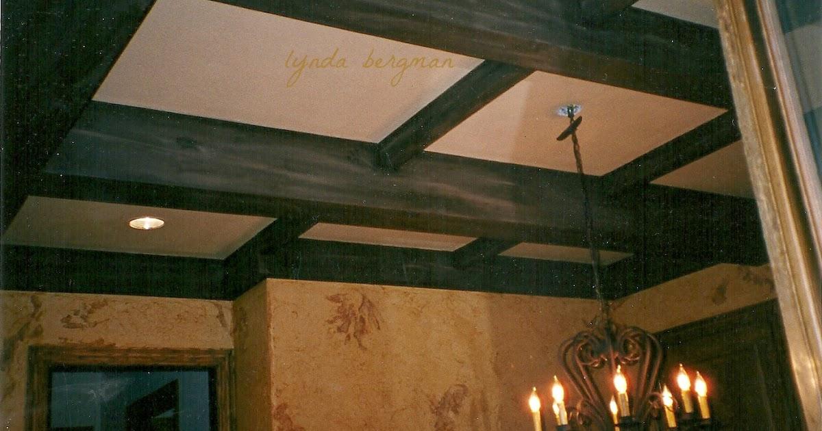 Lynda Bergman Decorative Artisan Faux Painting Ceiling
