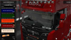 Truck Interior Lights Mod V4