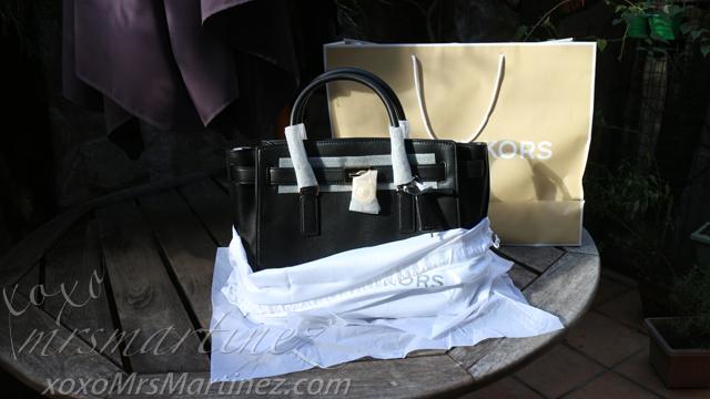 Michael Kors Hamilton Traveler Large (Black) | Bag Review