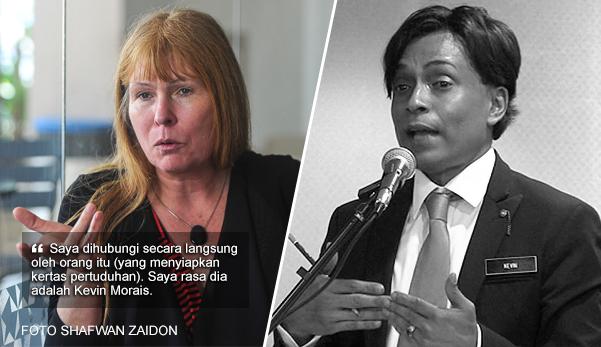 'Kevin Morais yang salurkan maklumat kes penyelewengan 1MDB kepada saya' - Clare