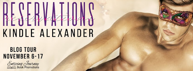 Blog Tour: Exclusive Teaser & Giveaway -- Kindle Alexander - Reservations