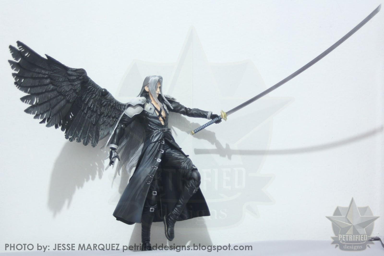 Sephiroth Wing Randomly Random: [Toy ...