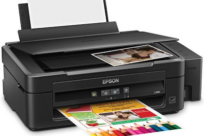 Epson L210 Driver Printer and Scanner Free Download
