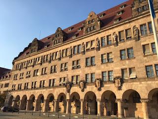 Fachada do Tribunal de Nuremberg