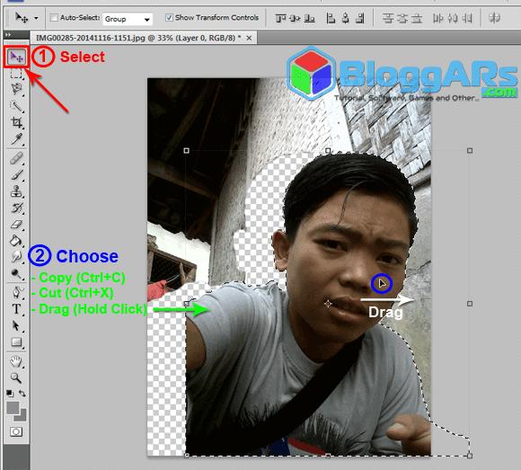 Cara Memotong Crop Objek Foto Di Photoshop