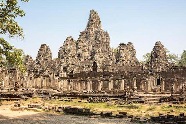 kambodža, siem reap, angkor, vat, wat, cestování, Asie, bayon, thom