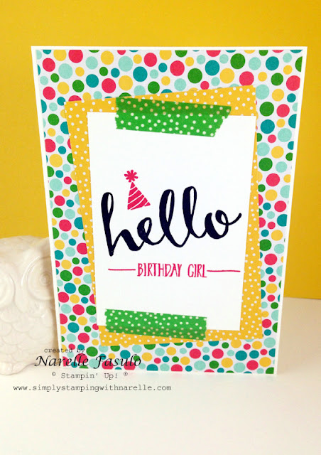 Hello - Cherry On Top - Sale-A-Bration -Simply Stamping with Narelle - available here - http://www3.stampinup.com/ECWeb/default.aspx?dbwsdemoid=4008228