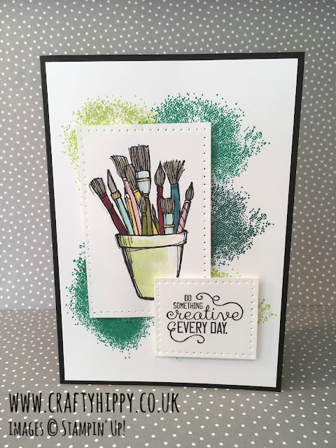 Crafting Forever card, Stampin' Up!