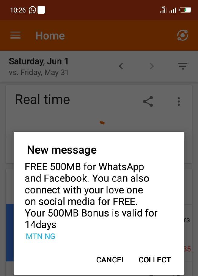 How To Get Free 500MB Data From MTN Valid For 14days - MTN