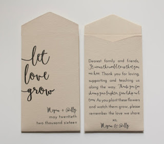 zero-waste wedding favor ideas seeds