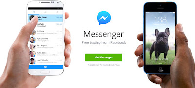 messenger pembaharuan SMS multiakun