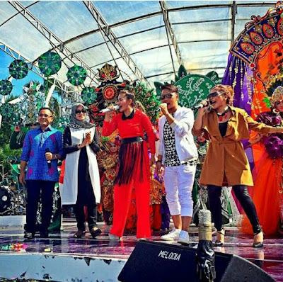 Karnaval INBOX SCTV di Banyuwangi.
