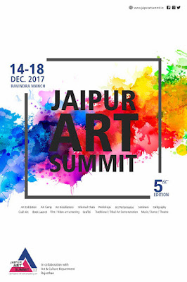Art News, 5th edition of Jaipur Art Summit (Dec 14-18, 2017), Art Scene India