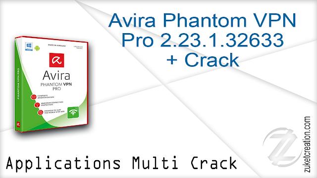 Avira Phantom VPN Pro 2.23.1.32633 + Crack