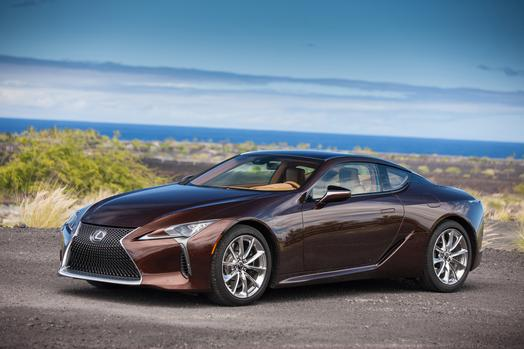 2018 Lexus LC 500 Coupe brown photo - chee7 com New Car