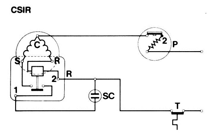 Schema Elettrico Frigorifero : Macchine frigorifere sistemi di avviamento rsir csir psc csr
