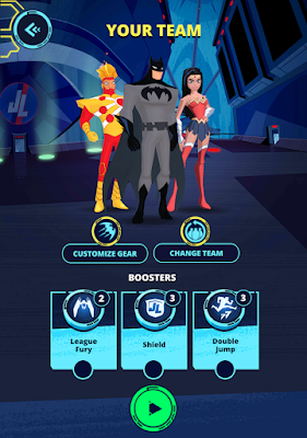 Justice League Action Run (Unreleased) v 1.0 Mod Apk Terbaru