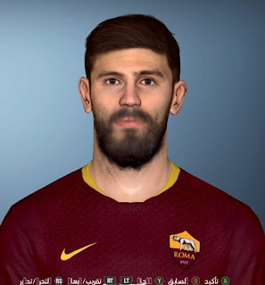 PES 2017 Faces Federico Fazio by Shenawy