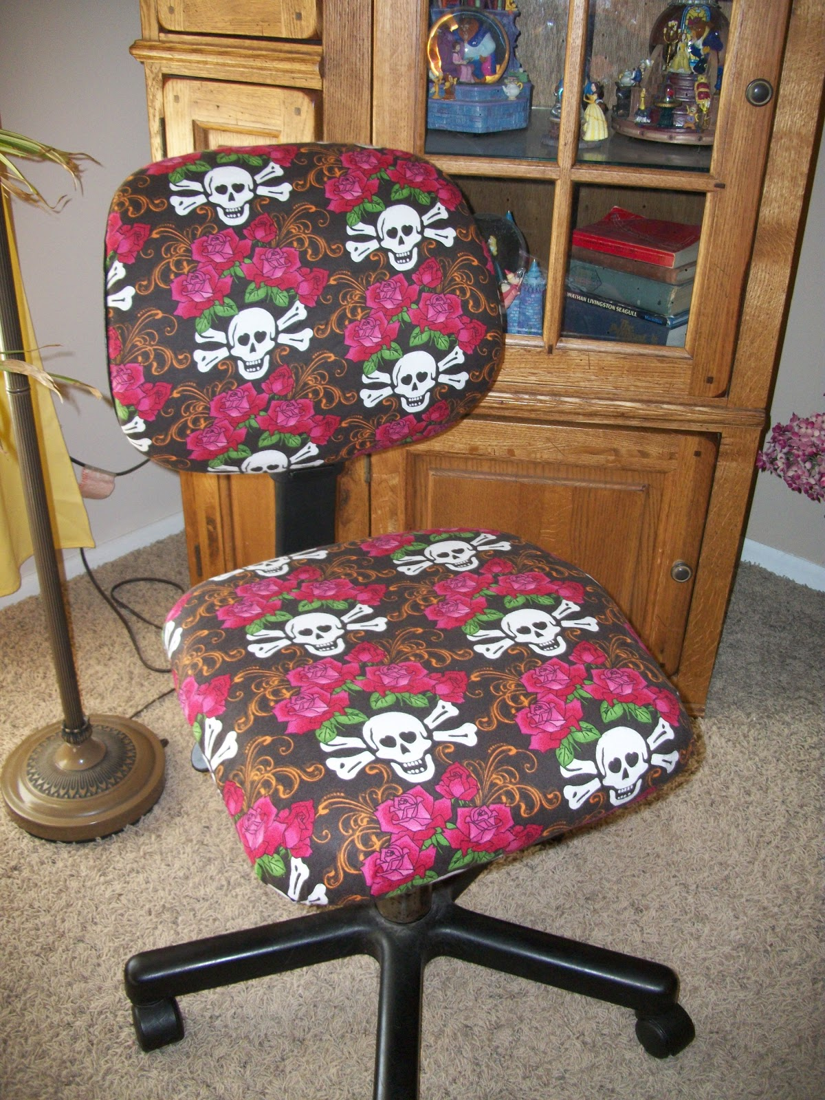 Girls Office Chair Talented Terrace Girls Diy Thursday Recovered Office Chair