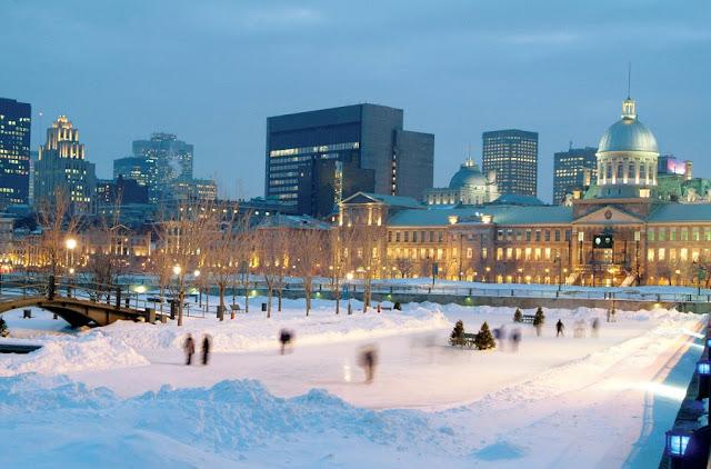 Inverno em Montreal